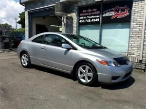 2007 Honda Civic Coupé LX MAGS **MANUAL 5 SPEED**