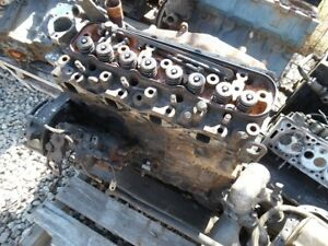 Isuzu diesel engine – block/head