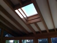 Wooden conservatory/sunroom