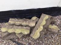 Concrete border trim x12 in Qty