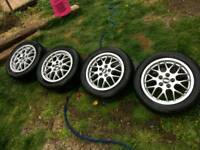 BBS Alloy wheels in very good condition.