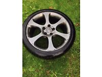 honda civic rim and tyre. GT type S replacement or spare tyre