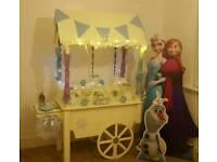 Sweet Cart, DJ, Room decor, wedding Dressing
