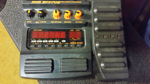 ZOOM BFX 708 BASS GUITAR MULTI EFFECTS PEDAL
