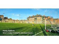 Shepherd's Bush Friendly Football- Sunday Afternoons