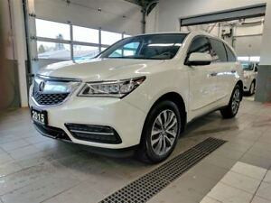 2015 Acura MDX Nav AWD - Leather - Sunroof - One Owner!
