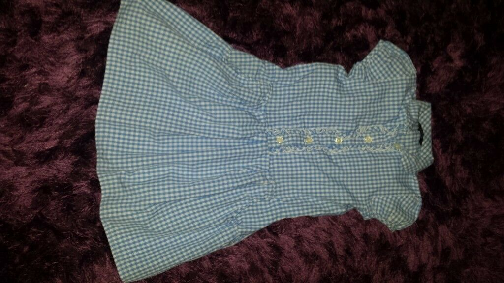 Girls navy blue school uniform bundle