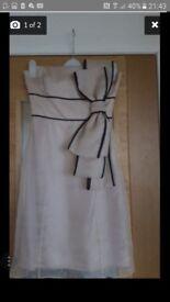 Coast cream dress size 10