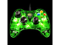 LED Xbox 360 Wired Controller