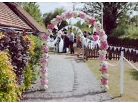 Flower Arch of Peonies for sale