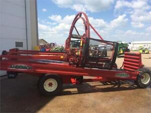 Anderson RB9000 round bale inline wrapper