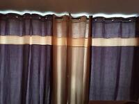 Living room curtains and pole