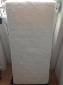 Cot mattress excellent condition