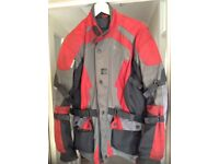 Motorcycle jacket trousers and boots for sale