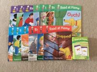 Bundle of Read at Home Oxford Reading Tree Books and Phonics Cards
