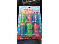 joblot/bulk Kids bubbles 6 bubbles in a packet