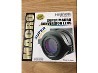Raynox Super Macro Lens DCR-250