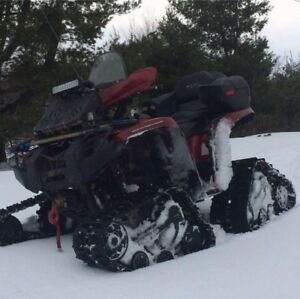 09 Yamaha Grizzly and Commander Wide Tracks