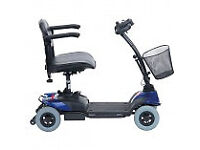 mobility scooter strider st1 brakes down to fit in carboot new batteries chgarger basket £225