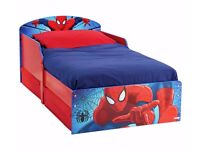 Ex-Display Spider-Man Toddler Bed with Drawers - Multicoloured