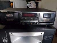 Pioneer CT-W504R Twin Tape Deck