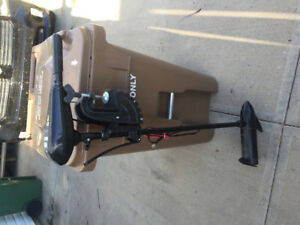 38 lb thrust Shakespeare trolling motor