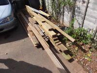 Large Bundle of Timbers