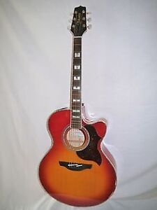 Takamine 523eg jumbo acoustic electric.
