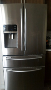 SAMSUNG Fridge, stove and dishwasher