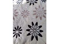 Pleat top lined curtains. Really good condition. No longer needed as do not suit new decor. .