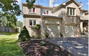 Rent Immaculate Oakville Townhouse 3 beds with finished basement