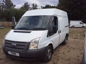 2012 Ford Transit 100 t260 Fwd Swb Semi H/R NO VAT