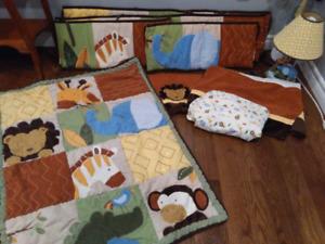 Baby Jungle bedroom set