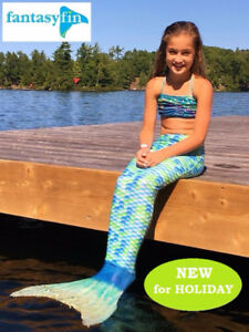 FANTASY FIN #1 SWIMMABLE MERMAID TAILS, NEW MERMAID TAILS !