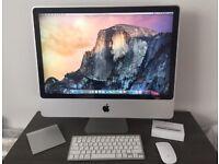 "Apple iMac 24"", 1TB HD, 4gb RAM, Apple Wireless Magic Mouse & Wireless Keyboard"