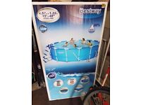 15ft bestway swimming pool with extras