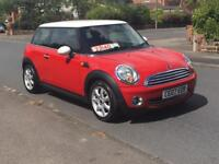 MINI COOPER 1.6 2007 07 REG THREE OWNER SERVICE HISTORY 2 X KEYS WITH HALF LEATHER SEAT P/X WELCOME