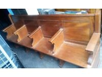 4 Seater Church Pew