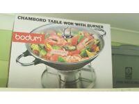 Bodum- Table Wok with burner (£15)