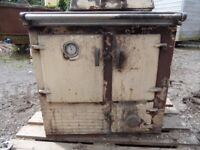 Rayburn Solid Fuel Oven with Back Boiler for Restoration