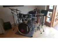 Complete professional drum kit for sale