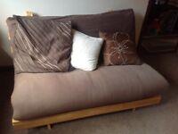 Futon sofa/double bed. Vgc