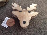 SET OF REINDEER COASTERS