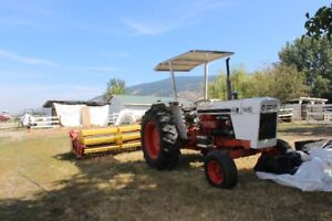 65Hp Case Tractor  and  Hay Mower