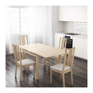 IKEA Extenable Table and 4 Chairs
