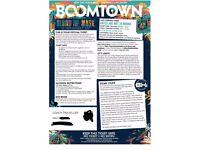 Boomtown Fair 2017 festival ticket