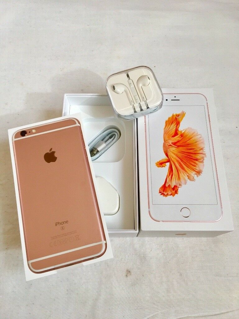 iPhone 6S 16GB Rose Gold Colour Factory Unlocked sim free in box with all accessories for salein LondonGumtree - iPhone 6S 16GB Rose Gold Colour Factory Unlocked sim free in box with all accessories for sale iPhone 6S 16GB Rose Gold colour in very good condition and all in perfect order Comes in box with all accessories Its factory unlocked to all networks If...