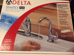 Delta Faucet Simply PuR Filtration System - BRAND NEW IN BOX