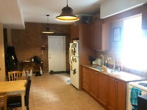 Huge Downtown 2 Bedroom with 2 Parking High Ceilings ++