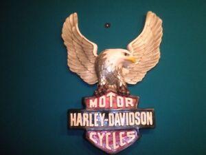 Harley Davidson Sign.